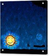 Good Night Sun Acrylic Print by Gianfranco Weiss