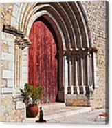 Gothic Portal Acrylic Print by Jose Elias - Sofia Pereira