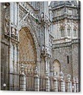 Gothic Splendor Of Spain Acrylic Print by Joan Carroll