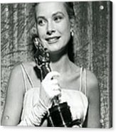 Grace Kelly At Awards Show Acrylic Print by Retro Images Archive