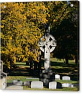 Graceland Cemetery Chicago - Tomb Of John W Root Acrylic Print by Christine Till