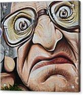 Graffiti Art Curitiba Brazil 22 Acrylic Print by Bob Christopher