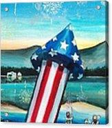 Grand Finale Acrylic Print by Shana Rowe Jackson