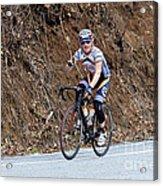 Grand Fondo Bike Ride Acrylic Print by Susan Leggett