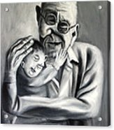 Grandpa Acrylic Print by Anthony Falbo