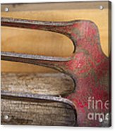 Grandpa's Tools Acrylic Print by Terry Rowe