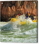 Granite Rapids Acrylic Print by Inge Johnsson