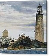 Graves Light House Acrylic Print by Karol Wyckoff