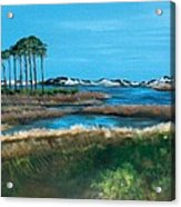 Grayton Beach State Park Acrylic Print by Racquel Morgan