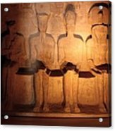 Great Gods Of Temple Acrylic Print by Anze Polovsak