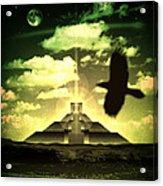 Great Mayan Dream Acrylic Print by Milton Thompson