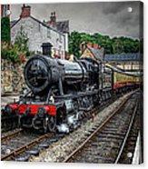Great Western Locomotive Acrylic Print by Adrian Evans