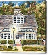 Greystone Inn II Acrylic Print by Kip DeVore