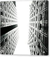Grids Lines And Glass Structure - Google London Offices Acrylic Print by Lenny Carter
