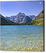 Grinnel Lake Glacier National Park Acrylic Print by Rich Franco