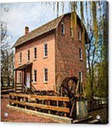 Grist Mill In Deep River County Park Acrylic Print by Paul Velgos