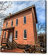 Grist Mill In Northwest Indiana Acrylic Print by Paul Velgos