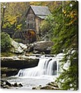 Grist Mill No. 2 Acrylic Print by Harry H Hicklin