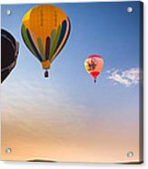 Group Of Balloons Acrylic Print by Inge Johnsson