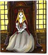 Guinefurre Cat Queen Acrylic Print by Tara Fly