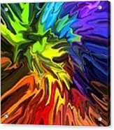 Hallucination Acrylic Print by Chris Butler