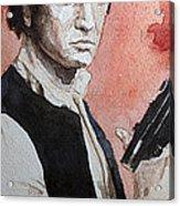 Han Solo Acrylic Print by David Kraig