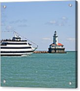 Harbor Light Chicago Acrylic Print by Christine Till