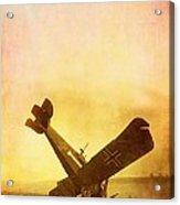 Hard Landing Acrylic Print by Edward Fielding