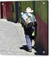 Hard Work Acrylic Print by Douglas J Fisher
