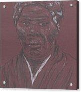 Harriet Tubman Acrylic Print by Bob Gumbs
