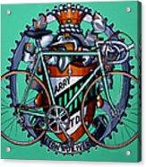 Harry Quinn Acrylic Print by Mark Howard Jones