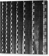 Harvey Mudd College Columns Acrylic Print by University Icons