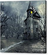 Haunted House Acrylic Print by Jelena Jovanovic