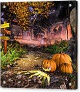 Haunted House Acrylic Print by Marina Likholat