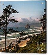 Haystack Framed Acrylic Print by Robert Bales