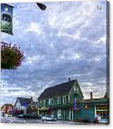 Hdr Sussex Broad Street Sharps Sky Acrylic Print by Jamie Roach