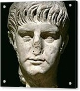 Head Of Nero Acrylic Print by Anonymous