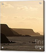 Headland Acrylic Print by Anne Gilbert