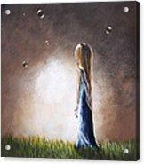 Heaven Heard Her Prayers Tonight By Shawna Erback Acrylic Print by Shawna Erback