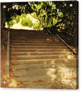 Heavenly Stairway Acrylic Print by Madeline Ellis