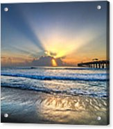Heaven's Door Acrylic Print by Debra and Dave Vanderlaan