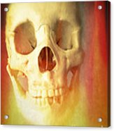 Hell Fire Acrylic Print by Edward Fielding