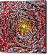Hellooooo-oooo-ooo-oo-o Acrylic Print by Janet Russell