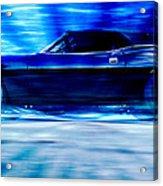 Hemi Cuda Acrylic Print by Phil 'motography' Clark