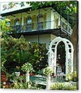 Hemingway House Acrylic Print by Kay Gilley