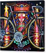 Hetchins Acrylic Print by Mark Howard Jones