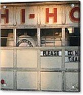 Hi-ho Acrylic Print by Peter Veljkovich