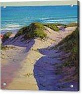 Hidden Dunes Acrylic Print by Graham Gercken