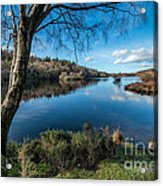 Hidden Lake Acrylic Print by Adrian Evans
