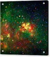 Hidden Nebula Acrylic Print by The  Vault - Jennifer Rondinelli Reilly
